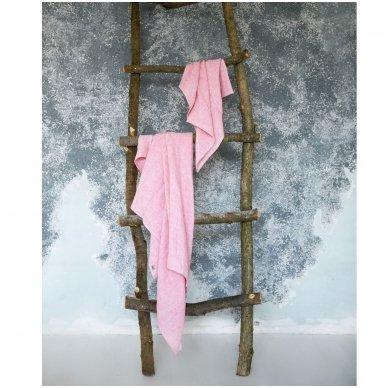 Lengvi spalvoti lininiai rankšluosčiai 2