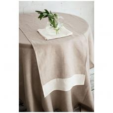 Natūrali lininė staltiesė