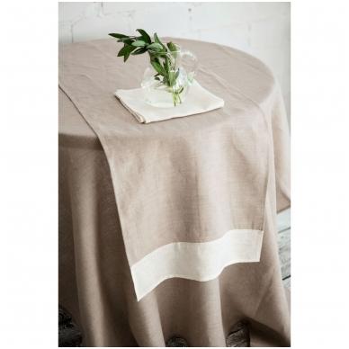Natūrali lininė staltiesė 2